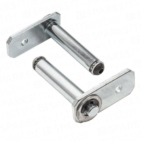 Cardale double garage door pivot arm pins