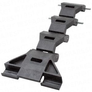 Cardale Thermaglide black locking strap AZSP7609