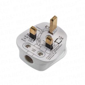 Fused plug 13A