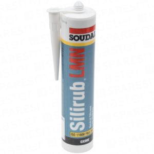 Soudal white silicone