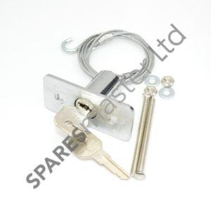 how to manually lock liftmaster garage door