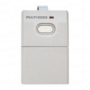 Multicode garage door remote control
