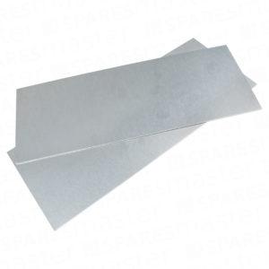 Rectangular corner plates