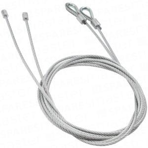 Garador PN31 & PN59 double garage door cables