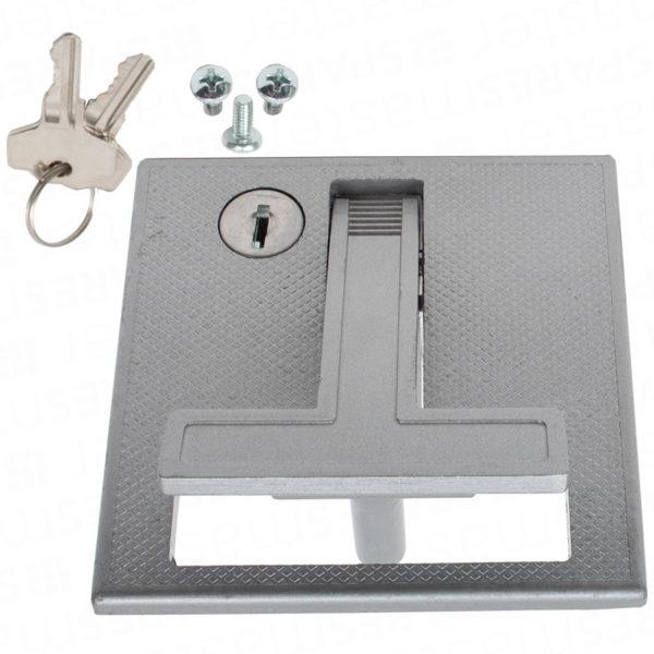 Henderson Merlin garage door flush lock