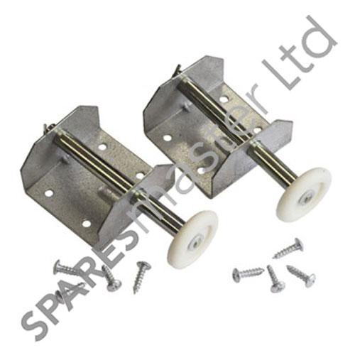 Cardale Single Door Roller Spindles Brackets Cardale Garage Spares