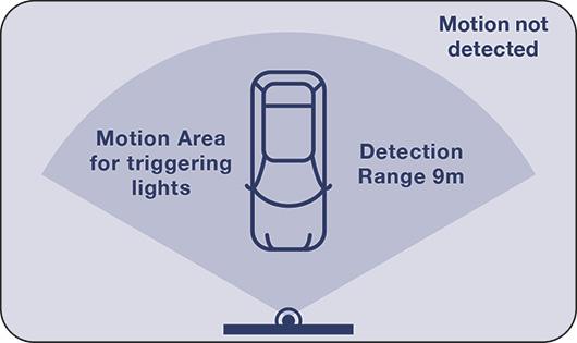 Night Sabre motion area