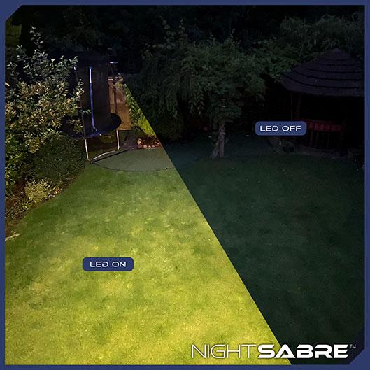 Night Sabre LED security light